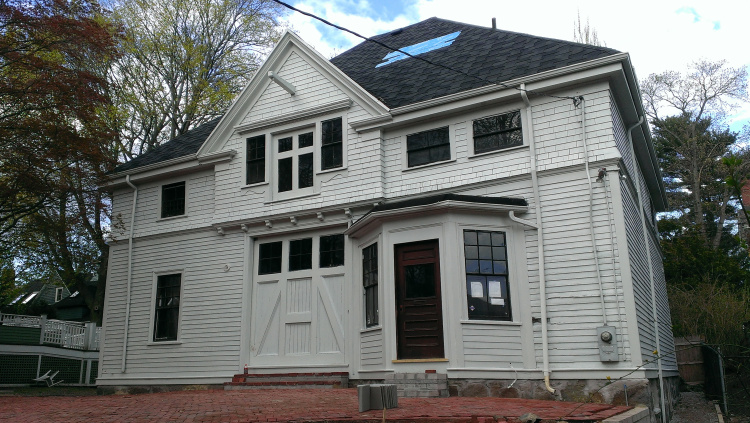 Castlemaine Construction, Inc. – Renovation of Historic Carriage House in Dorchester